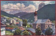 BOLZANO BOZEN ORTISEI 16 St. Ulrich in Gröden VAL GARDENA TIROL Cartolina