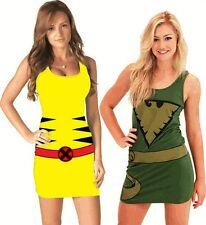 Juniors Marvel Comics X-Men Wolverine Phoenix Sexy Superhero Tank Dress Dresses