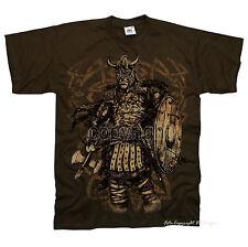 * Gothic Odin Thor Celtic Kelten Germanen Krieger T-Shirt *4224 br