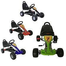FoxHunter Children's Go Kart – Pedal Car for Kids GoCart With Handbrake G04