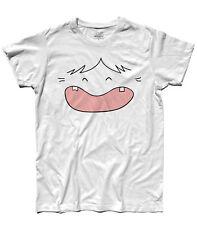 WickedArtz Cartoon Pink//Flowers Splitscreen Campervan Mens White T-shirt