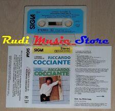 MC RICCARDO COCCIANTE I grandi successi 1983 1 stampa italy SIGLA cd lp dvd vhs