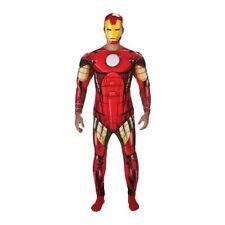 Rub - Iron Man Herren Kostüm Overall mit Muskel-Brust
