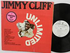 JIMMY CLIFF unlimited LP WHITE LABEL PROMO