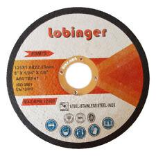 Lobinger Ø115 Ø125 Ø230 mm Trennscheiben Flexscheiben Edelstahl Metall Extradünn