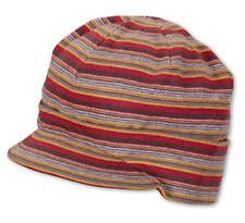 Sterntaler Schirm-Mütze gestreift chili Neu 41210