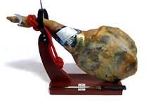 Serrano Schinken OHNE ZUSATZSTOFFE Set mit Halter und Messer Meersalz 10,98€/kg