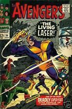 AVENGERS #34 (1966) Marvel Comics grade 5.0 ~