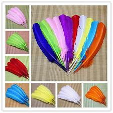 Turkey feather 10-500 PCS high quality 25-30cm/10-12inch DIY Wedding Decoration