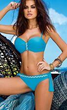 Bikini GABBIANO Aisha Push-up Turquoise blue set High Quality 8 / 36 S 10 / 38 M