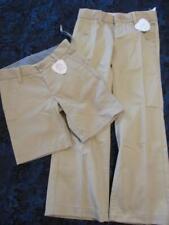 NWT 4 Regular 7 Slim Gap Kids Uniform Gap Shield Khaki Beige Tan Pants Shorts