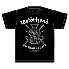 Motorhead-Iron Cross (el mundo es tuyo) « T-shirt - Nuevo Y Oficial!