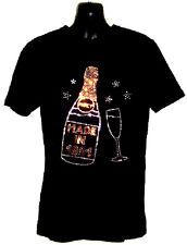REGALO COMPLEANNO aderente Ladies T-Shirt con disegno strass (tutte le taglie/