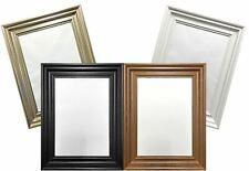 Black White Teak Pewter New Poster Frame Spoon Gloss Finish Wide Molding