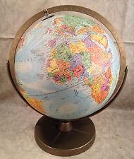 "Replogle Comprehensive Raised Relief Globe 11.5"" Metal Base"