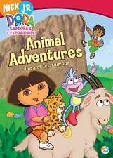 Dora the Explorer - Animal Adventures (DVD, 2006, Canadian) GOOD