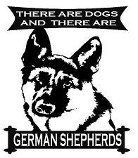German Shepherd Dog Alsatian T-Shirt Original Design Various Sizes And Colours
