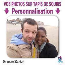 VOS PHOTOS SUR TAPIS DE SOURIS -  IMAGES IMPRIMEES - PERSONNALISE PHOTO