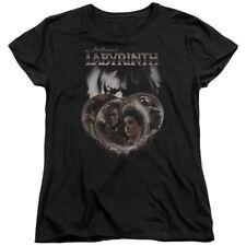 Labyrinth Movie Globes Women's T-Shirt Tee