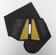 Yellow Belt Nierengurt schwarz - gelb für Motorradfahrer Quadfahrer Rollerfahrer