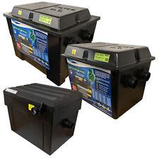 LOTUS GREEN GENIE UV FILTER 2500,3500,6500,12500,24000,48000 KOI FISH POND BOX