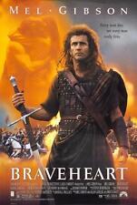 BRAVEHEART Film poster film a4 a3 arte stampa cinema