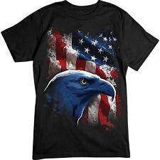 American FLAG T-SHIRT USA Patriotic EAGLE Tee Stars & Stripes Pride Shirt NEW