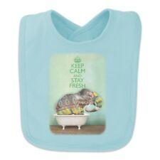 Elephant Keep Calm and Stay Fresh Bathtub Baby Bib