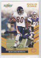 2007 Score Gold Zone #38 Bernard Berrian Chicago Bears Football Card