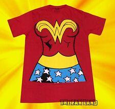 New DC Comics Wonder Woman Costume Vintage Classic Mens T-Shirt