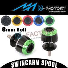 2017 CNC Swingarm Spools Protect Fit Kawasaki ER-6N 2005-2016 05 06 07 08 09 10