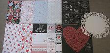 "Kaisercraft 'XO' 12x12"" Paper Love/Valentine's (You choose) KAISER *DELETED*"
