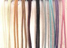 2m Cordon ciré épais 2 à 3 mm * au choix Couleurs * loisirs créatif lacet coton