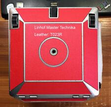 Linhof Master Technika body replacement leather cover precut self-adhesive!