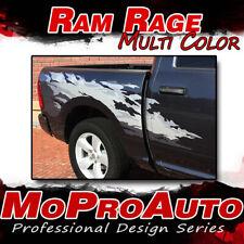 2012 Dodge Ram RAGE Multi-Color Truck Bed 3M Vinyl Graphics Decals Stripes M20