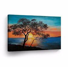 Modern Oil Painting on Canvas Print Wall Decor Art Framed %100 Handmade OPH30