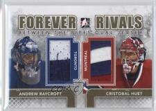 2012-13 In the Game Forever Rivals Series BTPD-06 Andrew Raycroft Cristobal Huet