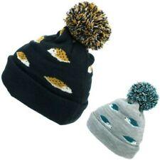 Kids Animal Bobble Beanie Hat Jiglz Knitted Cap Warm Pom Winter