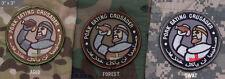 Mil Spec Monkey MSM Pork Eating Crusader Morale Patch-Multicam-Woodland-SWAT