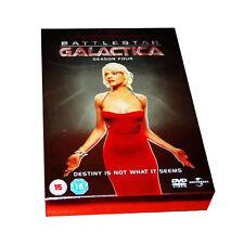 Battlestar Galactica - Series 4 - Complete (DVD, 2008, 4-Disc Set)