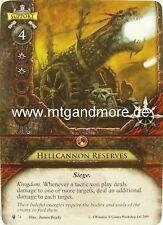 Warhammer Invasion - 1x Hellcannon Reserves  #074