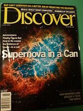 DISCOVER Magazine ~ June 2001: Supernova, Mummies, Weather Prediction, Mtn Lions