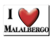 CALAMITA EMILIA ROMAGNA FRIDGE MAGNET MAGNETE SOUVENIR LOVE MALALBERGO (BO)