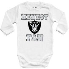 Baby bodysuit Newest fan Oakland Raiders, football, kids One Piece jersey