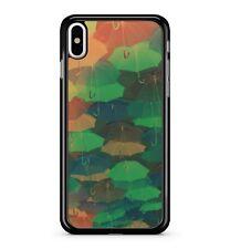 camouflage coloré Parapluie motif Pluvieux temps 2D étui de téléphone
