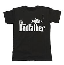 Il Rodfather T-shirt da Uomo Fit PESCA PESCATORE idea regalo