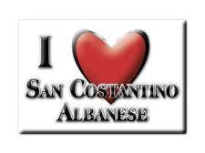 CALAMITA BASILICATA MAGNETE SOUVENIR I LOVE SAN COSTANTINO ALBANESE (PZ)