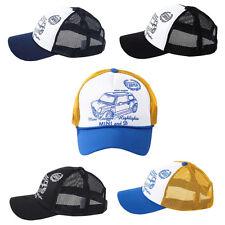 Unisex Mens Womens Cooper Car Summer Mesh Baseball Cap Trucker Snapback Hats