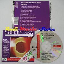 CD GOLDEN ERA POP MUSIC 4 BLOOD SWEAT TEARS BOBBY VINTON REDBONE SMITH  (C14)