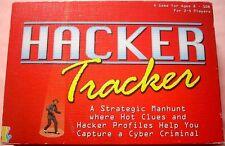 HACKER TRACKER Board Game, 2002, International Playthings, Near Mint